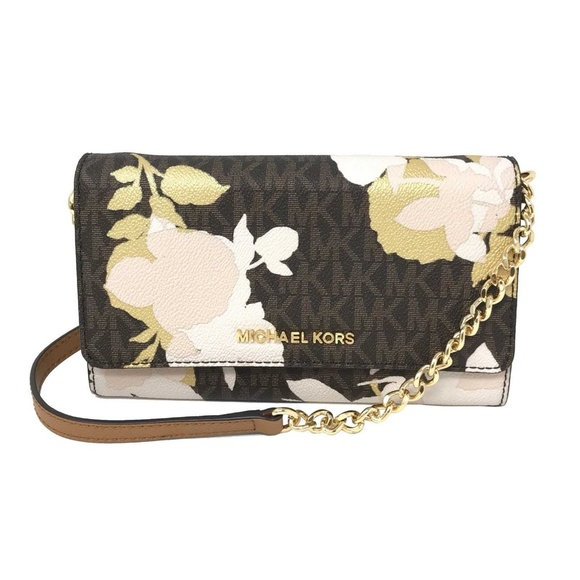 d3df7f4a7f6f52 Michael Kors Bags | Jet Set Travel Large Phone Crossbody | Poshmark